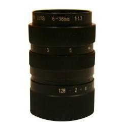 Varifokální objektiv 6-36mm