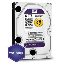 WD Purple 6TB HDD, WD60PURZ